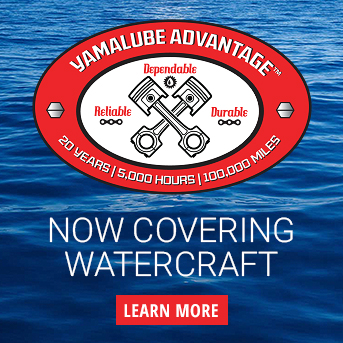 Yamalube Advantage now covers boats and personal watercraft
