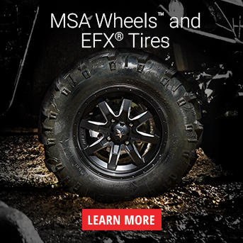 Learn More About MSA/ EFX Wheel & Tire Kit