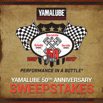 Enter Yamalube Sweepstakes